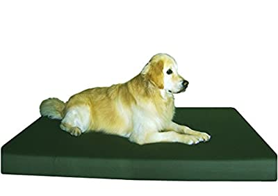 Memory Foam Dog Bed With Waterproof Liner and External Washable covers