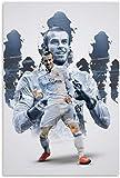 HuGuan Leinwand Druck Poster Gareth Bale Fußball Fußball
