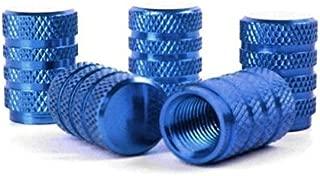 whobabe farbigen Tire Aluminium T/ür Gap ger/ändelt Ventil Gap blau blau