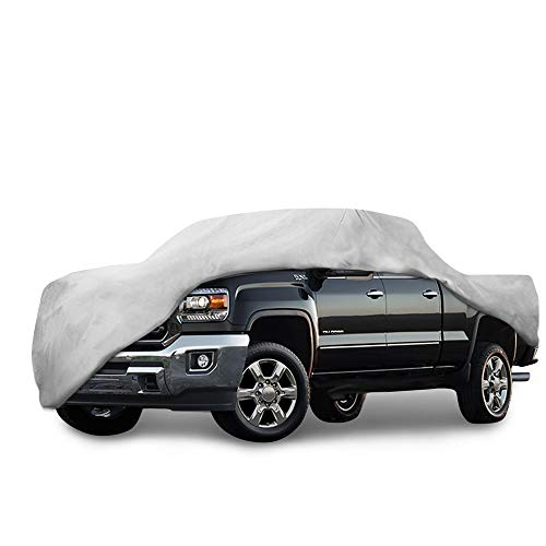Motor Trend T-800 Truck Cover for 2013-2018 GMC Sierra Custom Fit All Weather Waterproof Pickup Protection