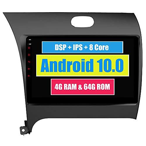 Roverone 9 Pouces Android 6.0 Octa Core pour Kia Cerato K3 Forte 2012 2013 2014 2015 2016 Autoradio avec navigation GPS Bluetooth stéréo Miroir Link Full écran tactile