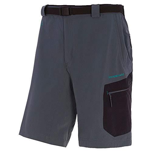 Trango Pant. Corto Majalca Short Homme, Gris/Noir (Gris Pizarra/Negro), XL