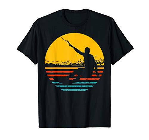 Retro Wakeboard Sunset Fan Geschenk Wakeboarder Wakeboarding T-Shirt