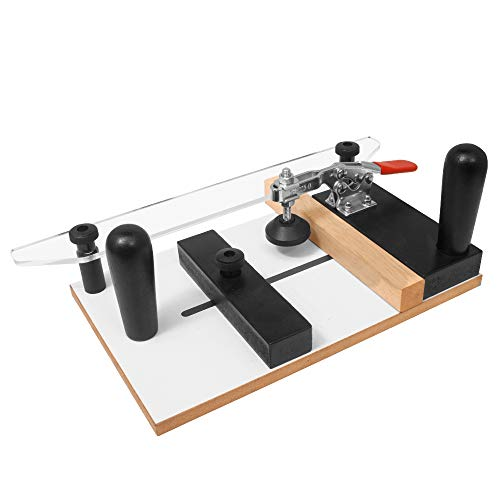 Fulton Rail Guide Coping Sled PRO For Cutting Profiles Into The End Grain Of Your Stock | Ideal for Cutting Precise Clean Joints for Cabinet Door and Drawer Fronts