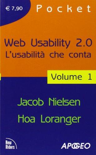 Web usability 2.0. L'usabilità che conta: 1