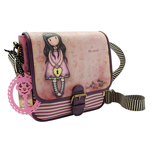 Santoro Gorjuss Schultertasche The Secret 23 x 23 cm hellpink