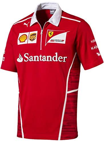SF Scuderia Ferrari Team Polo F1 heren Santander Poloshirt, XL