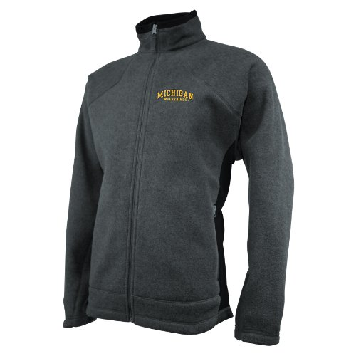 Ouray Sportswear NCAA Michigan Wolverines Herren V2X Jacke, XL, Charcoal Heather
