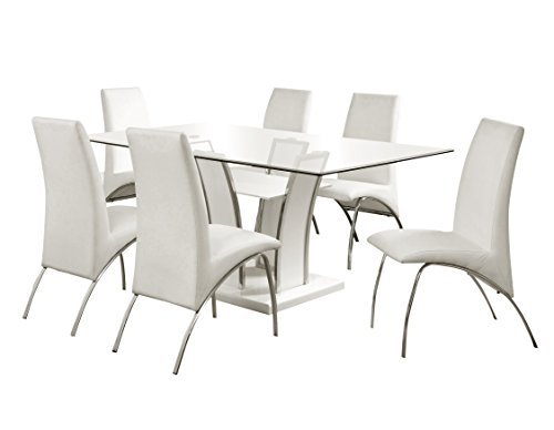247SHOPATHOME Dining room set, White