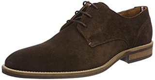 Tommy Hilfiger Essential Suede Lace Up Derby, Zapatos de Cordones Oxford para Hombre, Marrón (Coffee Bean 212), 45 EU (B076DDRS8N) | Amazon price tracker / tracking, Amazon price history charts, Amazon price watches, Amazon price drop alerts