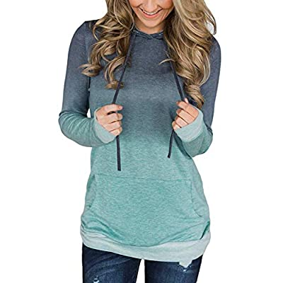 Women's Pullover Comfy Long Sleeve Hoodies Loose Casual Tops