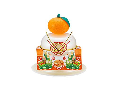 サトウの福餅入り鏡餅 小飾り 迎春橙 66g×30個