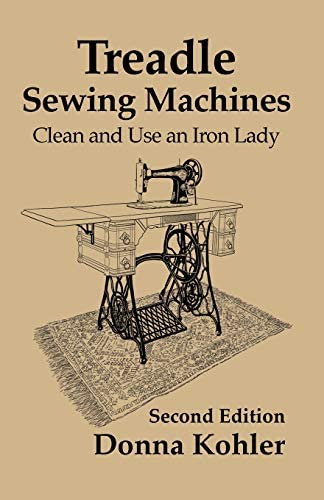 Treadle Sewing Machines Clean and Use an Iron Lady product image