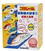 プラレール入浴玉 新幹線大好き マスコット入りバスボール 炭酸入浴料 【 1個 】