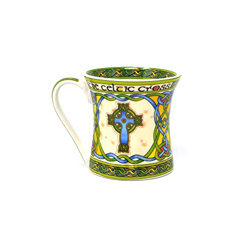 Royal Tara Irish Celtic High Cross Bone China Mug