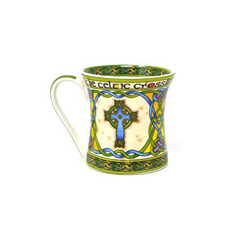 Royal Tara Irische Keramik Kaffee Tee Becher Tasse mit Hochkreuz Keltisches Kreuz Design