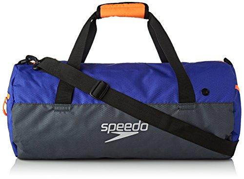 Speedo Unisex-Erwachsene Duffel Bag, Grau, Einheitsgröße