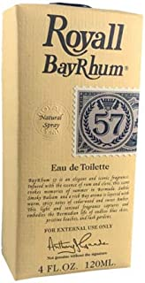 Royall Bay Rhum 57 by Royall Fragrance for Men Eau de Toilette Spray 4.0 oz