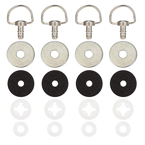 Kemimoto X3 Roof Quick Release Bolts Compatible with 2017 2018 2019 2020 2021 Can Am X3/ X3 Max- Set of 4
