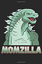 Momzilla Mother Of Monsters Birthday Gifts For Mum: Dot Grid Mother / Journal Sketchbook Gift - ( 6 x 9 inches - approx DI...
