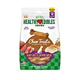 Nylabone Healthy Edibles Natural Long Lasting Dog Chew Treats Roast Beef & Chicken Regular 12 Count