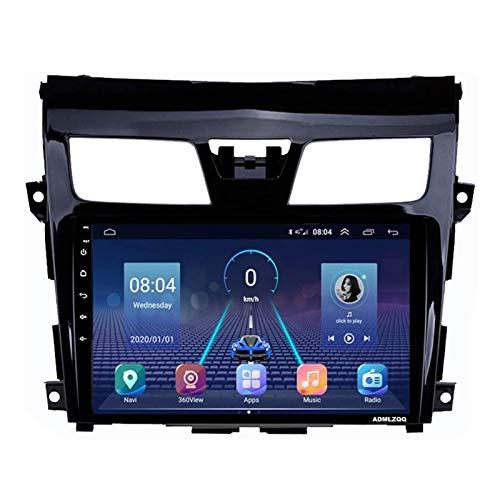 WY-CAR Reproductor Multimedia Estéreo para Automóvil con Pantalla Táctil Android 8.1 De 10.1 Pulgadas para Nissan Teana Altima 2013-2018, FM/Bluetooth/SWC/Mirror Link/Cámara De Visión Trasera