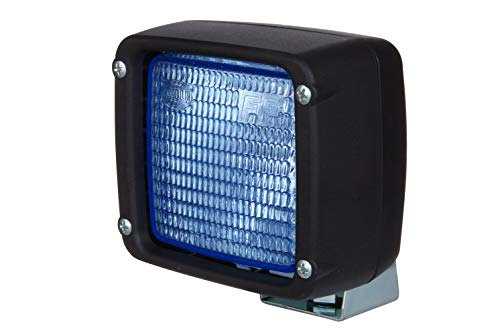 HELLA 1GA 997 506-661 Halogen-Arbeitsscheinwerfer - Ultra Beam - 12V - Anbau - stehend - Bodenausleuchtung - Kabel: 2000mm - Stecker: AMP