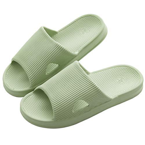 KOCOTA KOCOTA 抗菌防臭素材 スリッパ サンダル 超軽量 滑り止め 男女兼用 グリーン S