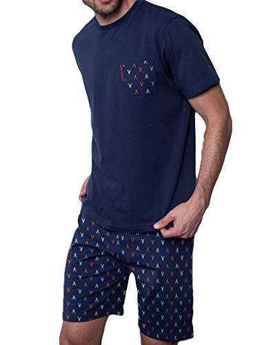 ANTONIO MIRO - Pijama Antonio Miró Hombre Corto Hombre