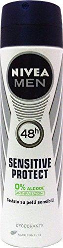 NIVEA Desodorante en spray para hombre Sensitive Protect, 150 ml