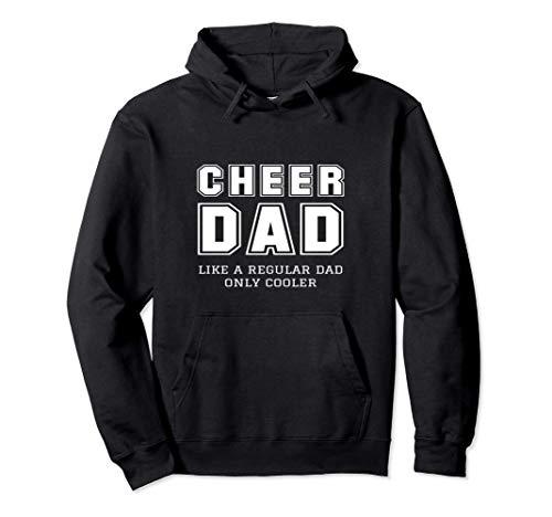 Cheer Dad Like A Regular Vater Nur Cooler Cheerleader Pullover Hoodie