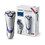 CMXSC Jefes máquina de Afeitar eléctrica de la Serie Star Wars Hombre Barba Cuchillo de Afeitar Recargable Tres