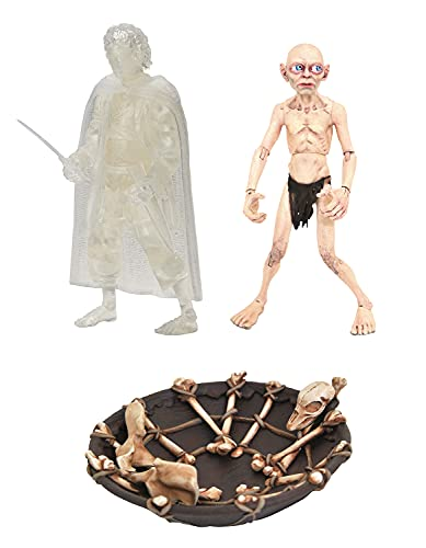 Lord of the Rings Diamond Select Action Figure Box Set Red Book of Westmarch SDCC 2021 Exclusiv