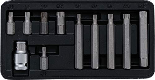 Kraftmann 5030 | Juego de puntas | entrada 10 mm (3/8