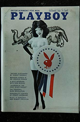 PLAYBOY US 1968 11 NOVEMBER INTERVIEW DON RICKLES PIN-UP VARGAS PAIGE YOUNG THEATER'S NUDES SEXY