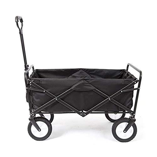 Queen Boutiques Opvouwbare gereedschapswagen in de openlucht, opvouwbare bagagekat voor op reis