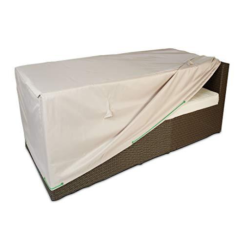 Cov\'Up Sofabezug für Gartensofa, 130 x 75 x 60 cm, Taupe