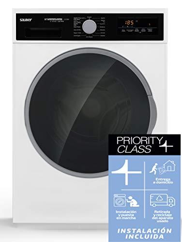 Sauber - Lavadora Secadora LS2096 9/6 kg - 1600 RPM - A - Color Blanco - INSTALACIÓN INCLUIDA