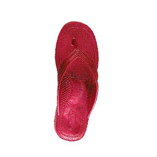 [BBC] 【サイズ:LL 26-27cm/カラー:レッド】 (ビービーシー) PEARL ダイバーズサンダル ソリッドカラー 一本鼻緒型(メンズ) ビーチサンダル 漁サン ギョサン