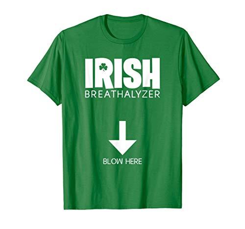 Lustige St. Patrick\'s Day Irish Alkoholtester Herren Party T-Shirt