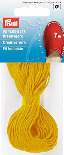 Prym 7m Espadrilles Creative Garn, gelb