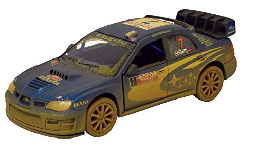 Dirty Subaru Impreza WRC 1:36 Scale 5 by Kinsmart