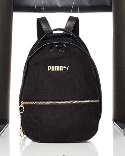PUMA 75418, Backpack Mujer, Negro, Talla única
