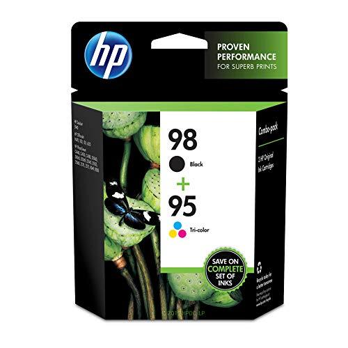 HP 95   2 Ink Cartridges   Black, Tri-color   C9364WN, C9368WN