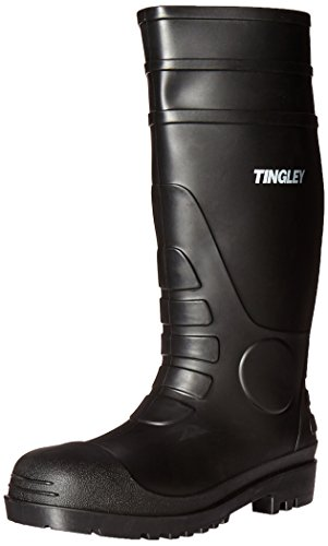 Tingley 31151 Economy Kneed Boot for Agriculture, 15-Inch, Size 9, Black