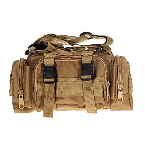 Bolso de múltiples Funciones de Emergencia, Aire Libre táctico Militar Mochila Paquete de la Cintura Cintura Bolsa Mochilas de excursión Que acampa de Molle de la Bolsa 3P Bolsa de Pecho,B
