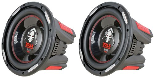 BOSS Audio Phantom P106DVC 10' 4200W DVC Car Subwoofers Power Subs Pair