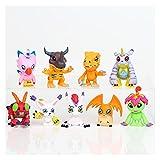 Aolongjs Toppers para Tartas Figuras de acción de PVC Toy Anime Model Toy 9pcs / Set