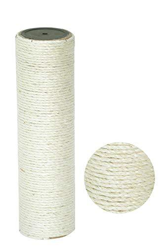 nanook Sisalstamm Ersatzstamm für Kratzbäume - Verschiedene Längen - Durchmesser 9 cm Ø für Gewinde M8 - Länge 40 cm