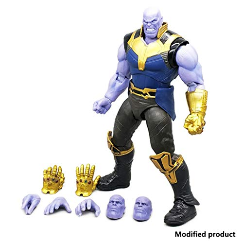 Siyushop Figura De Acción De Figuarts Thanos Avengers: Infinity War - Figura De Acción De Thanos - Figura De Acción De Súper Villano - Alta 6.3 Pulgadas
